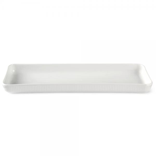 hvid fad 36 cm.